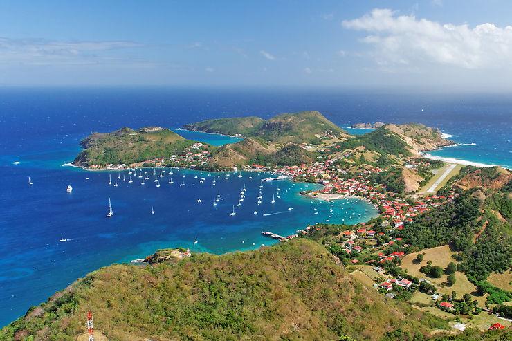 Le saintes, un havre de paix au large de la Guadeloupe