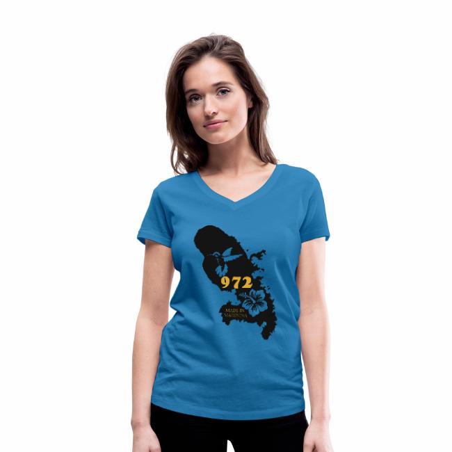 T-Shirt Martinique personnalisante. Confectionnez vous même le T-shirt idéal en souvenir de votre séjour en Martinique